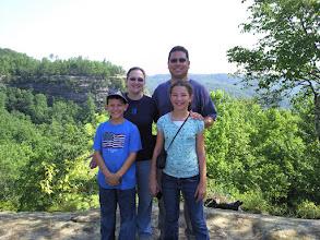 Photo: Rojas family in Kentucky, 2009