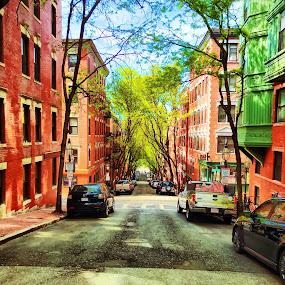 Beacon Hill by Chris Montcalmo - City,  Street & Park  Neighborhoods ( urban, trendy, city life, street, neighborhood )