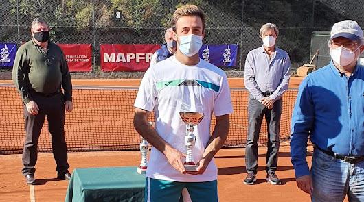Javier Barranco, finalista en el WTT Vila de Valldoreix