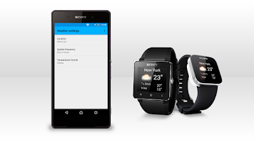 Screenshot of Weather smart extension