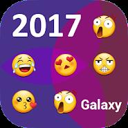 Galaxy theme for emoji – vast galaxy keyboard APK icon