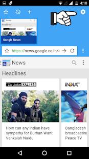 AdBlocker Lite Browser screenshot