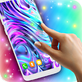 3D HD Moving Live Wallpapers Magic Touch Clocks Android Apps on