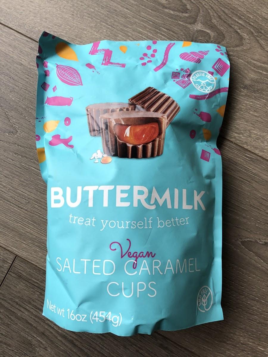 Vegan Salted Caramel Cups