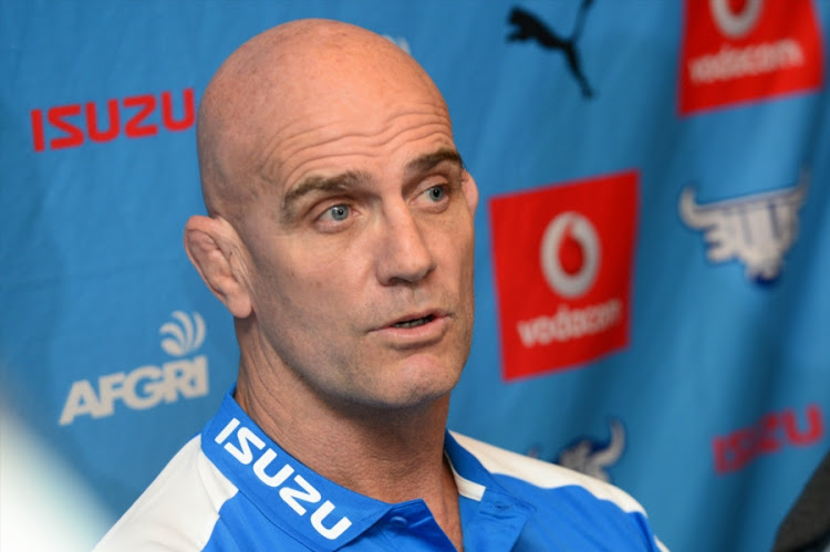 John Mitchell (Executive of Rugby) during the Vodacom Blue Bulls press conference at Loftus Versfeld on May 25, 2017 in Pretoria, South Africa.
