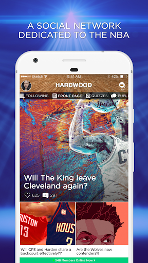 Hardwood Amino for NBA 1.8.14502 screenshots 1