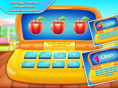 Kids Computer - Alphabet & Numbers Learning- screenshot thumbnail