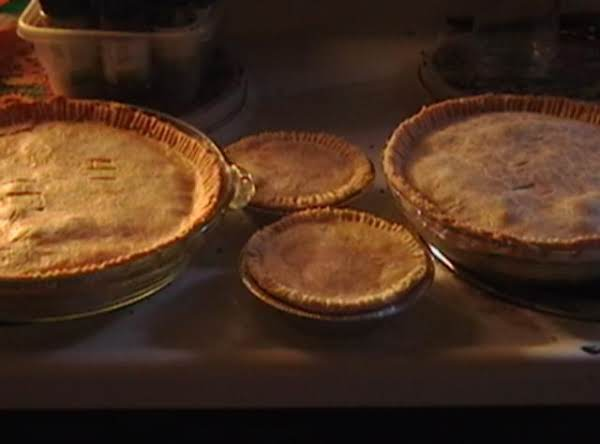 This Recipe Made 2 Pies And 2 Small Ones Plus Had Enough Dough Left Over For 1 More Pie.