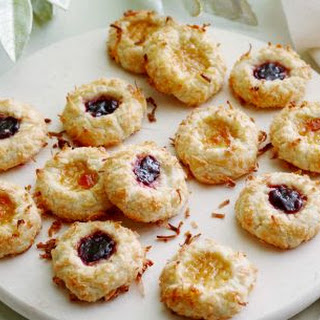 Jam Thumbprint Cookies Without Nuts Recipes