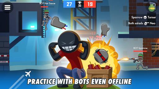 Stickman Combats: Multiplayer Stick Battle Shooter apktram screenshots 3