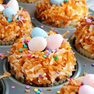 Coconut Cream Cupcakes.