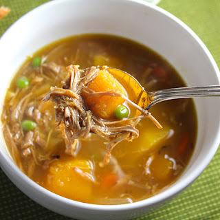 Turkey and Butternut Squash Stew.