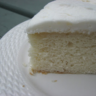 My now favorite White Cake