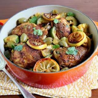 Chicken Tagine With Zucchini And Cauliflower