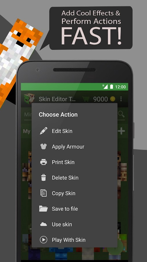 Skin editor tool for minecraft android apps on google play Minecraft 3d model maker