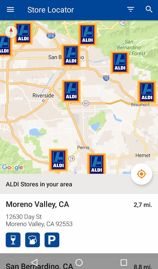 ALDI USA- screenshot
