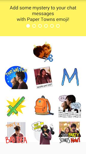 Paper Towns Emoji