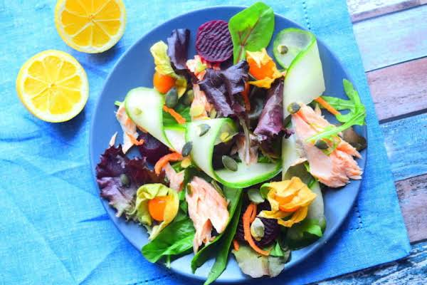Smoked Salmon Salad Recipe