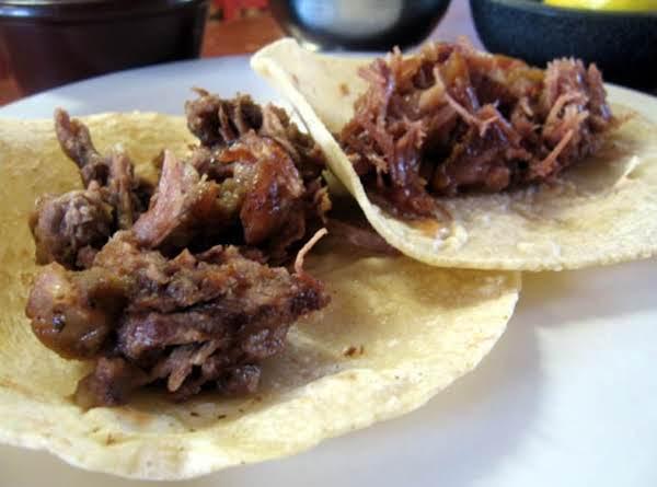 Pork Carnita's