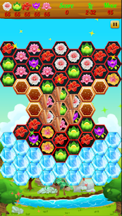 Blossom Match 3: Flower Forest Blast - náhled