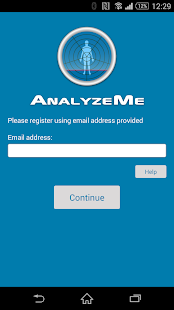 AnalyzeMe- screenshot thumbnail