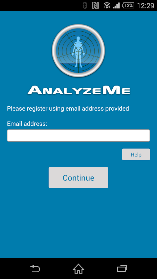 AnalyzeMe- screenshot