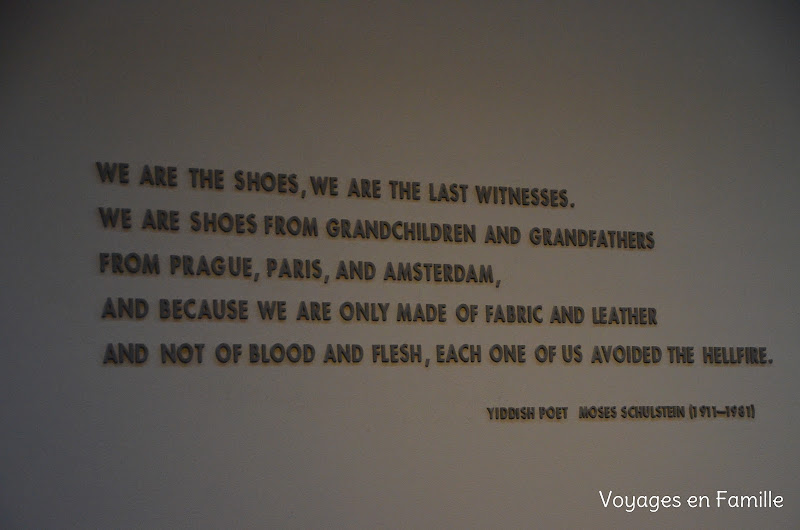 holocaust museum - shoes room
