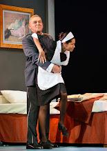 Photo: Wien/ Theater in der Josefstadt: DER GOCKEL von Georges Feydeau. Inszenierung: Josef E. Köpplinger. Premiere 19.11.2015. Martin Zauner, Salka Weber. Copyright: Barbara Zeininger