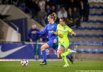 Er was ook nog voetbal in de Super League: KAA Gent Ladies gaan winnen op bezoek bij KRC Genk Ladies