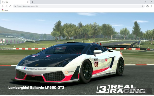 Real Racing 3 New Tab Wallpapers Collection