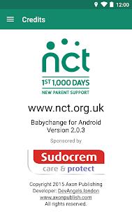 NCT Babychange screenshot