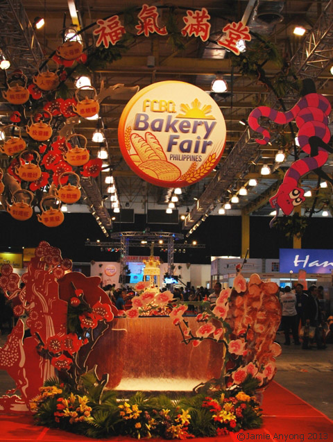 Bakery Fair 2013 entrance