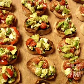 Avocado Bruschetta Recipes