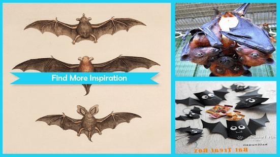 Cute Styrofoam Flying Bat - náhled