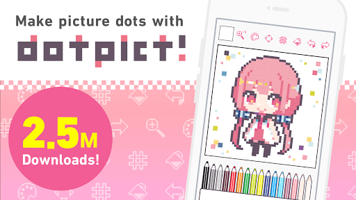dotpict - Easy to Pixel Arts 3.7.2 androidtablet.us 1