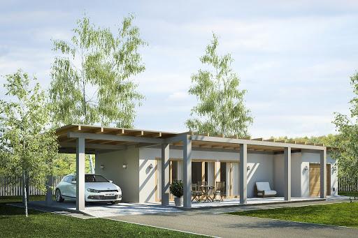 projekt G182 - Budynek rekreacyjny