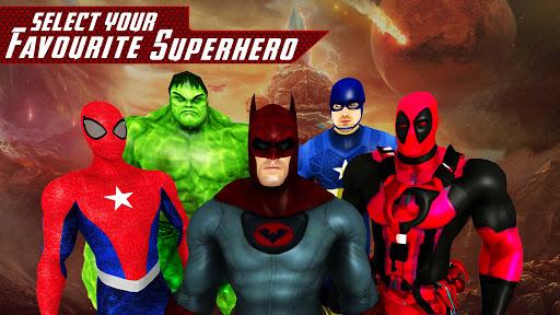 Superhero Avenger Street Fighting 2018 1.3 screenshots 8
