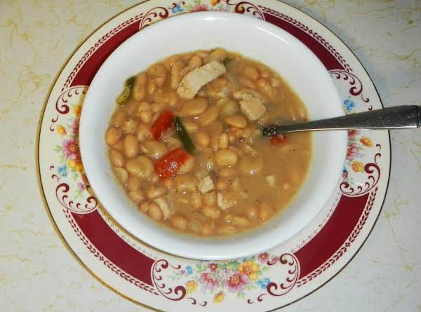 Butter Bean Turkey Soup W/a Kiss Of Horseradish Recipe