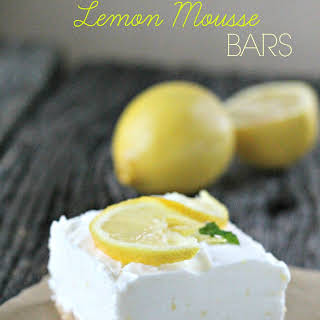Skinny Lemon Bars.