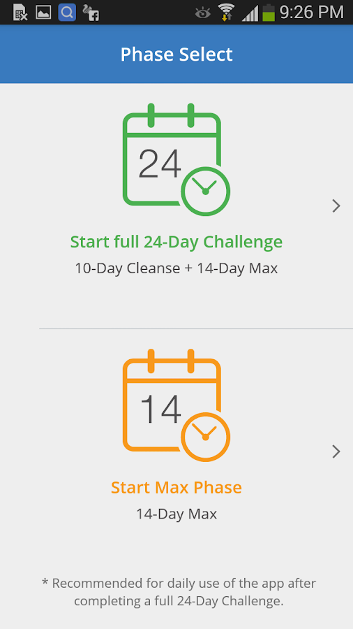 AdvoCare® 24-Day Challenge™- screenshot
