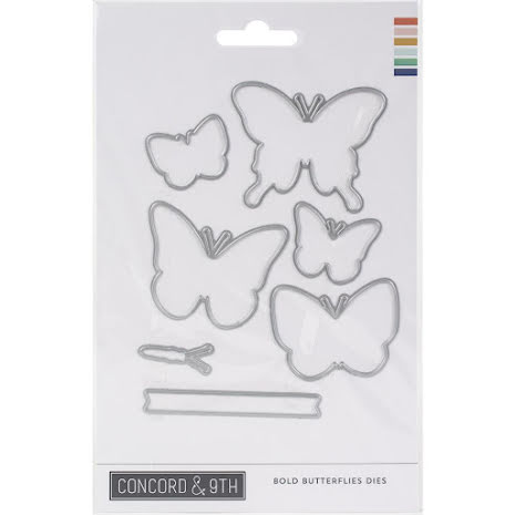 Concord & 9th Dies - Bold Butterflies