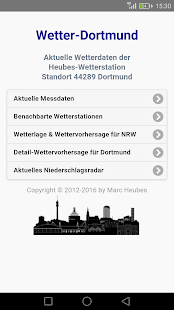 Wetter-Dortmund- screenshot thumbnail