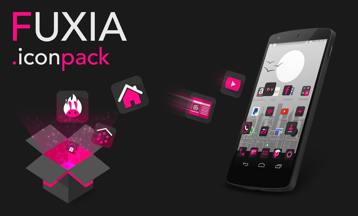 Fuxia - Icon pack- screenshot
