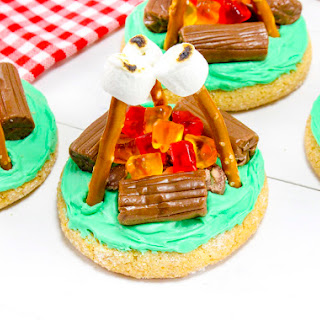 End of Summer Campfire Cookies!.