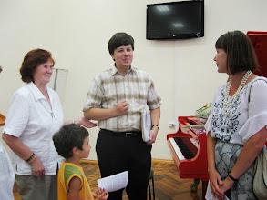 """Photo: Etter """"medkjensle-konserten"""" i Novgorod Regionale Vitskapsbiblioteket, 28. juni 2011"""