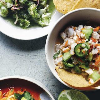 Nopalito'S Traditional Spicy Shrimp Ceviche Recipe