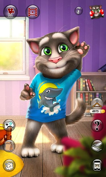 Talking Tom Cat 2 Android App Screenshot