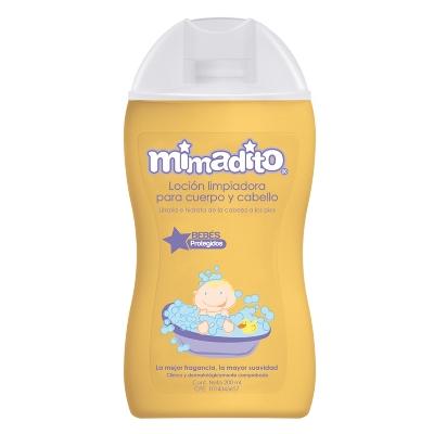 Locion Mimadito Para Cuerpo Y Cabello 200ml