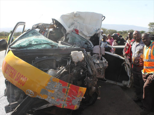 Two students perish, 10 injured in accident near Salgaa black spot