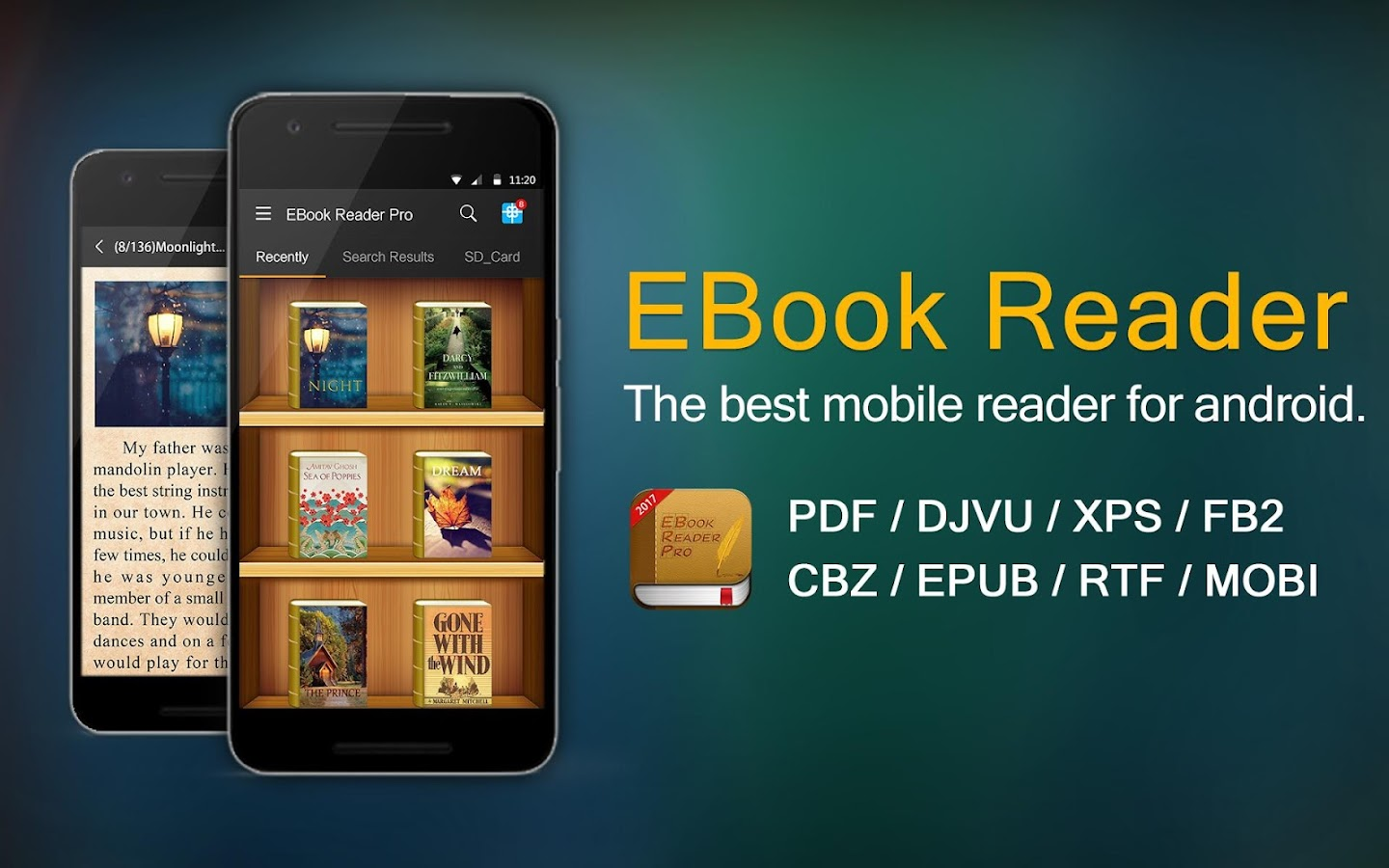 EBook Reader Pro- screenshot